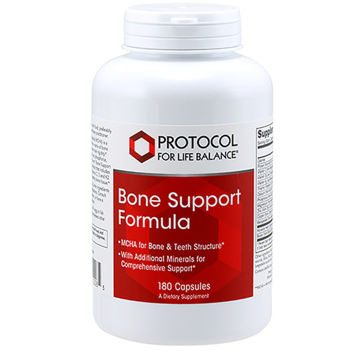 Bone Support Formula by Protocol for Life Balance 180 capsules