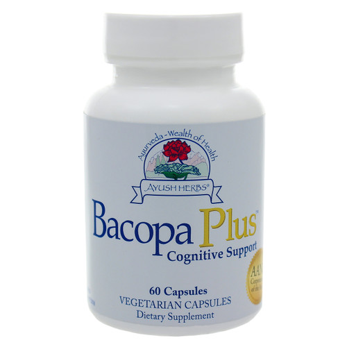 Bacopa Plus by Ayush Herbs 60 capsules