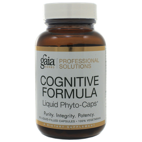 Cognitive Formula by Gaia Professional Solutions 60 liquid phyto-caps