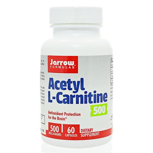 Acetyl L-Carnitine 500mg by Jarrow Formulas 60 vegetarian capsules