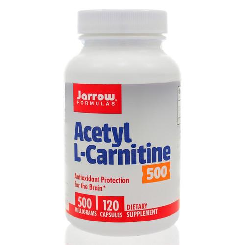 Acetyl L-Carnitine 500mg by Jarrow Formulas 120 vegetarian capsules