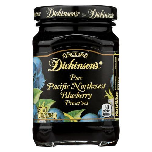 Dickinson Preserves - Blueberry - Case Of 6 - 10 Oz
