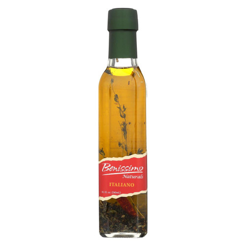 Benissimo Olive Oil - Italiano - Case Of 6 - 8.1 Fl Oz.
