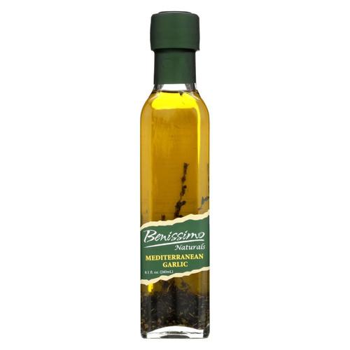 Benissimo Mediterranean Garlic Oil - Case Of 6 - 8.1 Fl Oz