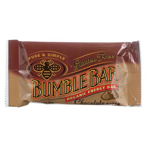 Bumble Bar Organic Sesame Bar - Chocolate Crisp - Case Of 12 - 1.4 Oz.