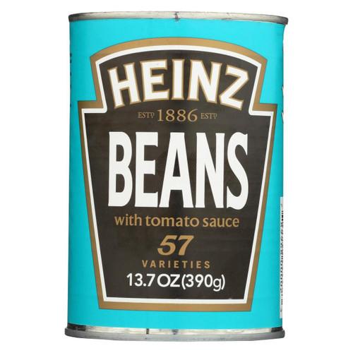 Heinz Beans - Baked - Case Of 12 - 13.7 Oz