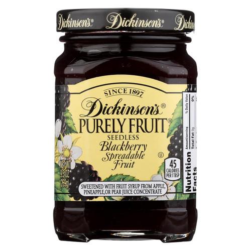Dickinson Preserves - Blackberry - Case Of 6 - 9.5 Oz