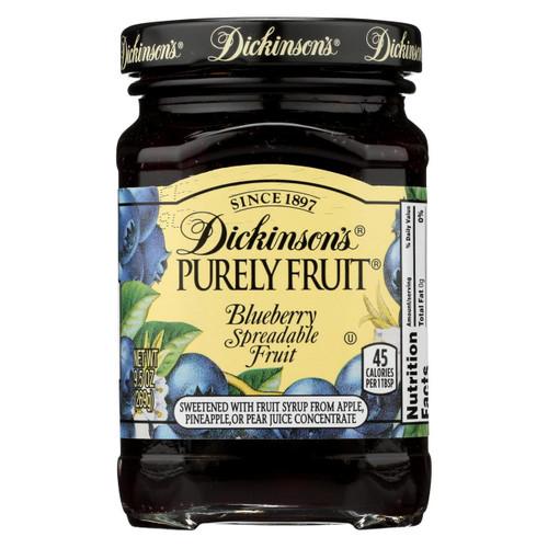 Dickinson Blueberry Preserves - Case Of 6 - 9.5 Oz