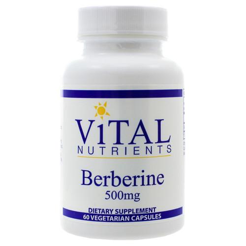 Berberine 500mg by Vital Nutrients 60 capsules
