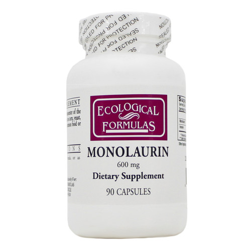 Monolaurin 600mg by Ecological Formulas 90 capsules