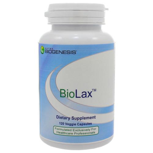 BioLax by Nutra BioGenesis 120 vegetarian capsules