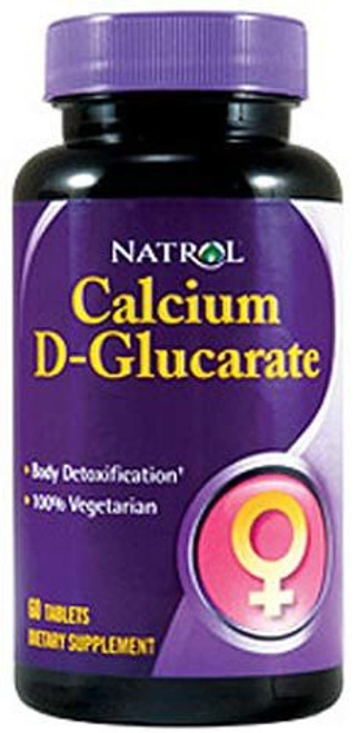 Calcium D-Glucarate by Natrol 60 tablets