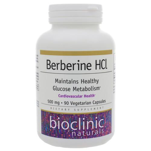 Berberine HCL by Bioclinic Naturals 90 capsules
