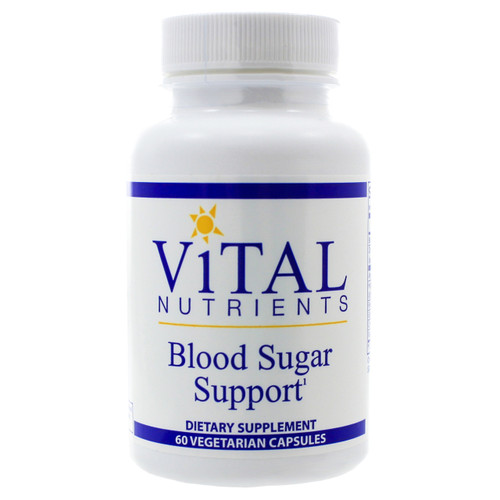 Blood Sugar Support by Vital Nutrients 60 capsules