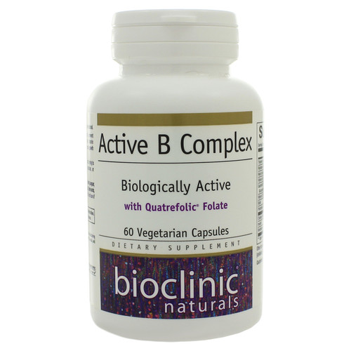 Active B Complex by Bioclinic Naturals 60 capsules