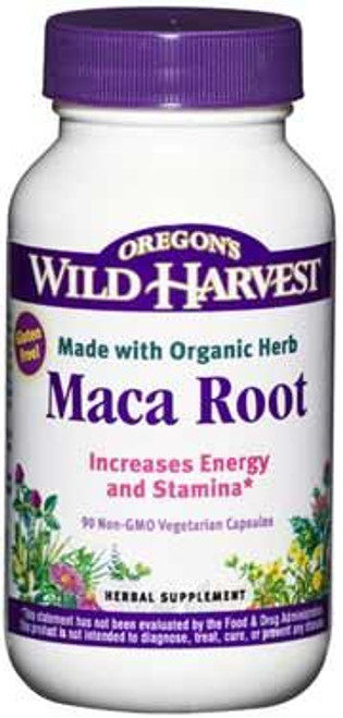 Maca Root by Oregon's Wild Harvest 90 capsules