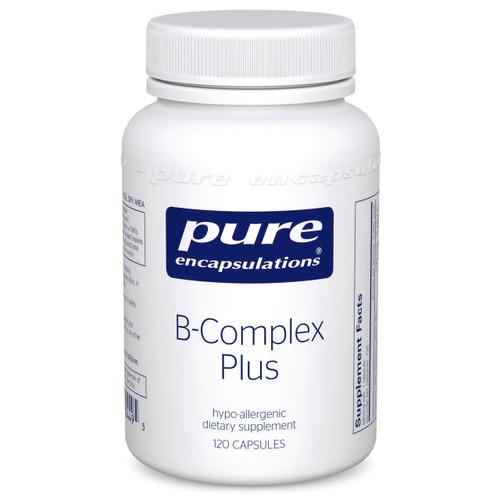 B-Complex Plus Pure Encapsulations 120 capsules