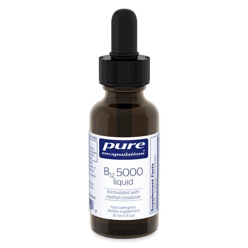 B12 5000mcg Liquid by Pure Encapsulations 1oz