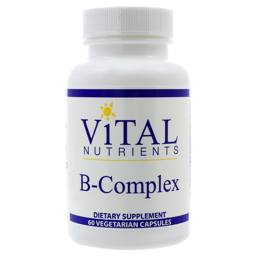 B-Complex by Vital Nutrients 60 capsules