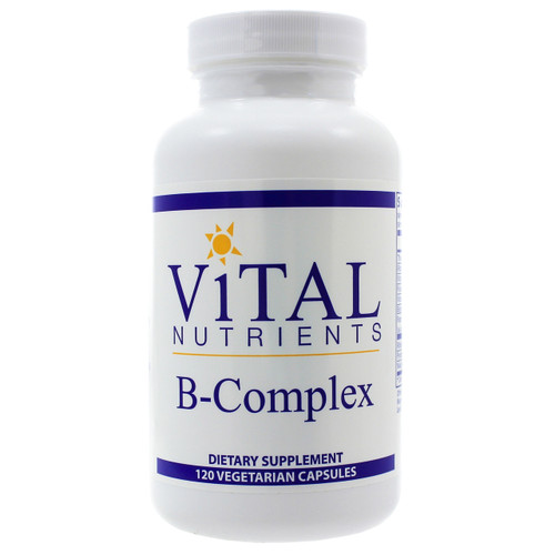 B-Complex by Vital Nutrients 120 capsules
