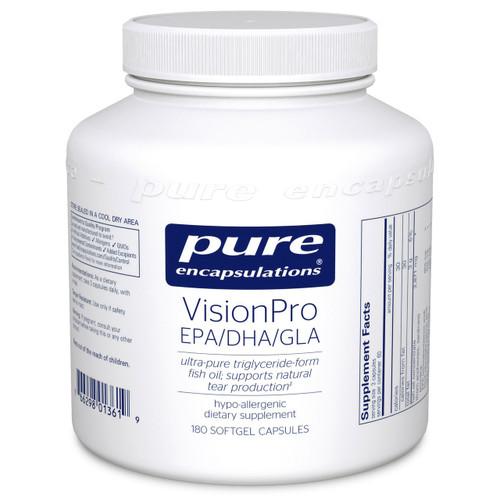 VisionPro EPA/DHA/GLA by Pure Encapsulations 180 capsules