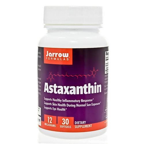 Astaxanthin 12mg by Jarrow Formulas 30 softgels