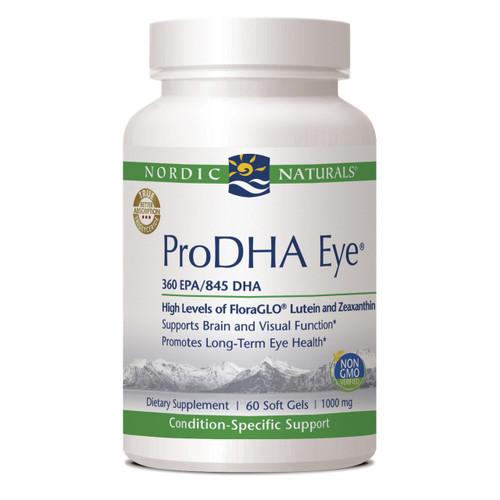 ProDHA Eye 1000mg by Nordic Naturals 60 softgels