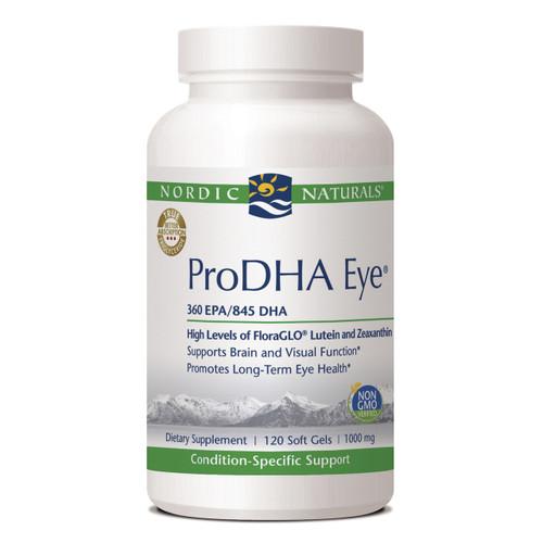 ProDHA Eye 1000mg by Nordic Naturals 120 softgels
