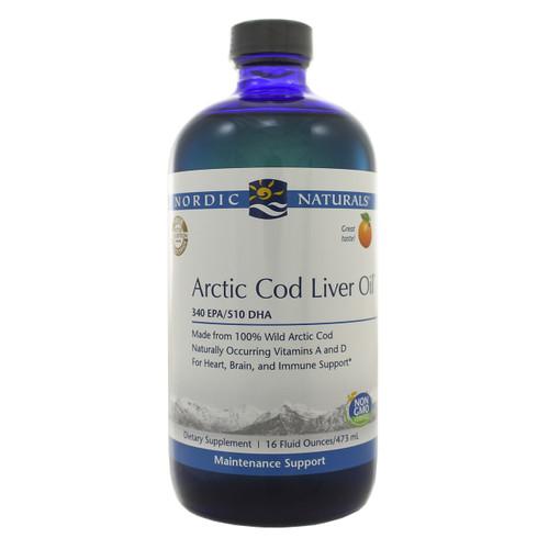 Arctic Cod Liver Oil Orange by Nordic Naturals 16oz