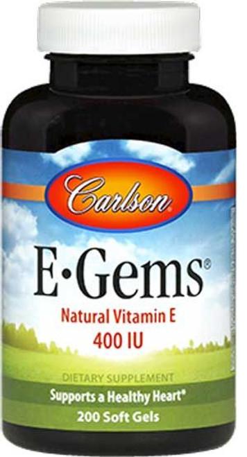 Carlson E-Gems 400IU 90 + 44 softgels