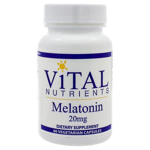 Melatonin 20mg by Vital Nutrients 60 capsules