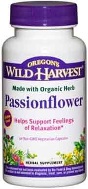 Passionflower by Oregon's Wild Harvest 90 capsules