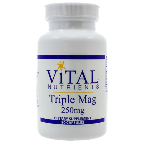 Triple Mag 250mg by Vital Nutrients 90 capsules