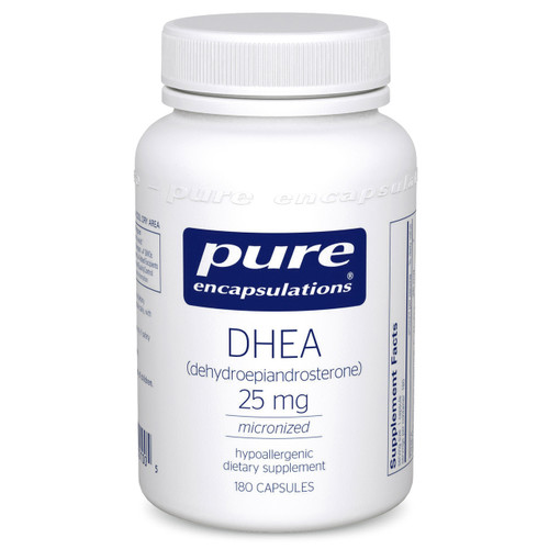 DHEA 25mg by Pure Encapsulations 180 capsules