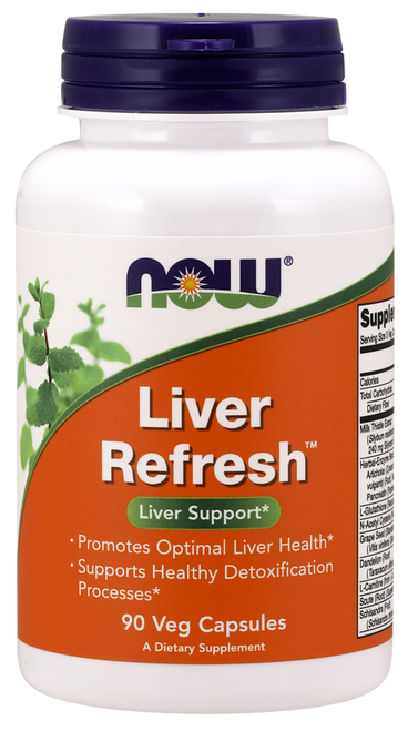 Liver Refresh by NOW 90 Veg Capsules