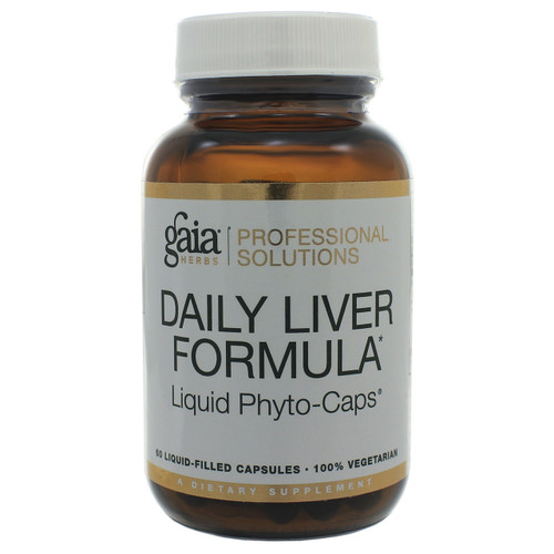 Daily Liver Formula by Gaia Professional Solutions 60 liquid phyto-caps