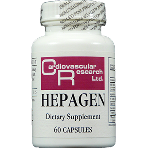 Hepagen by Cardiovascular Research Ltd. 60 capsules