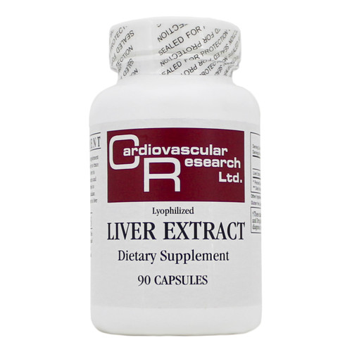 Liver Extract by Cardiovascular Research Ltd. 90 capsules