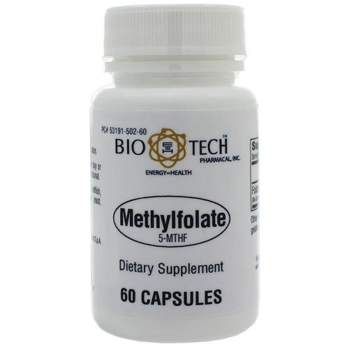 Methylfolate (5-MTHF) by Bio-Tech Pharmacal 60 capsules