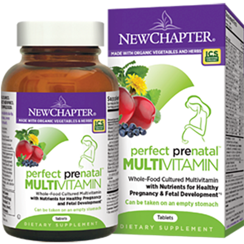 Perfect Prenatal by New Chapter 96 tablets