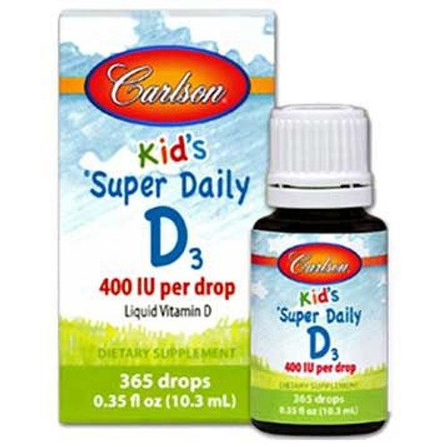 Carlson Super Daily D3 for Kids 400IU 0.35oz