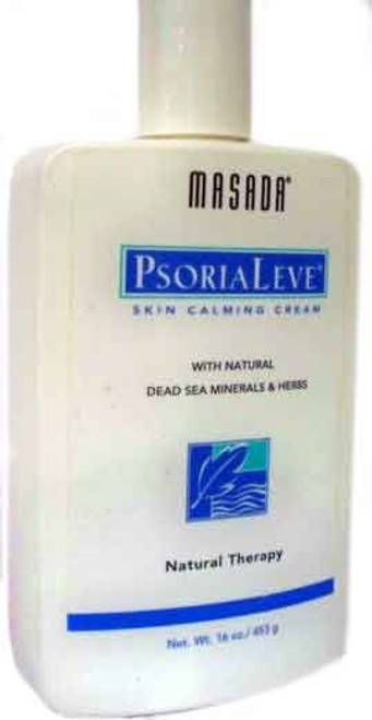 PsoriaLeve With Natural Dead Sea Minerals & Herbs by Masada 16oz