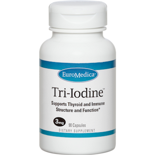 Tri-Iodine 6.25mg by EuroMedica 90 capsules
