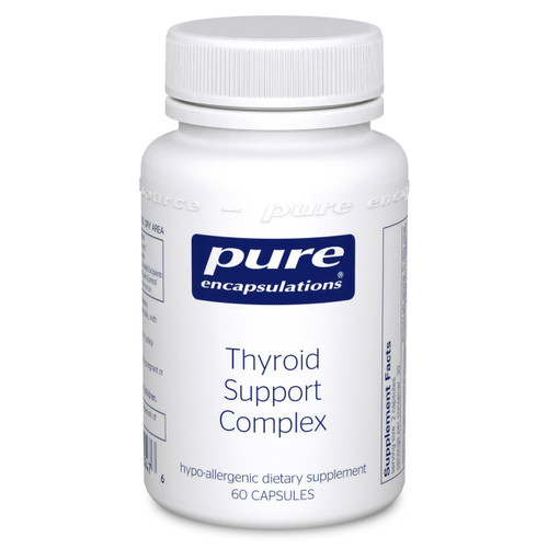 Thyroid Support Complex by Pure Encapsulations 60 capsules