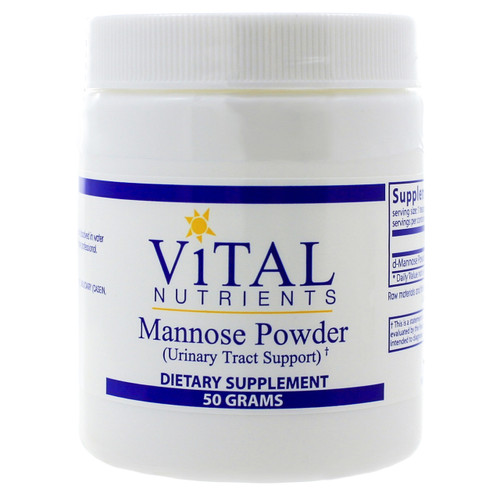 Mannose Powder by Vital Nutrients 50 grams