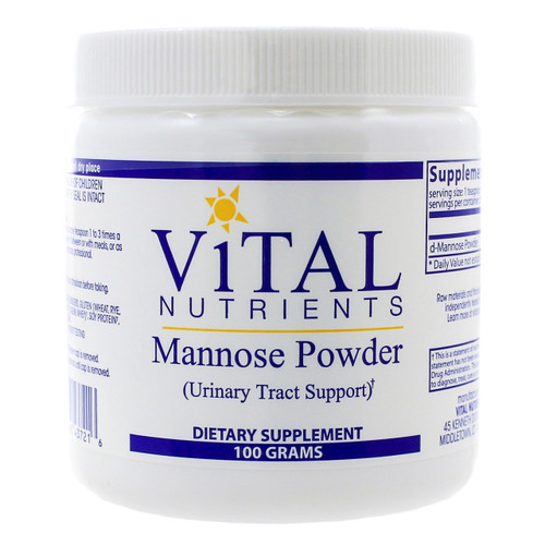 Mannose Powder by Vital Nutrients 100 grams