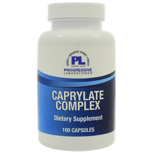 Caprylate Complex by Progressive Labs. 100 capsules