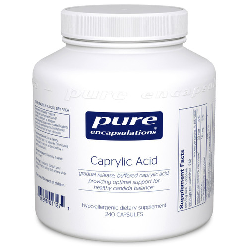 Caprylic Acid by Pure Encapsulations 240 capsules