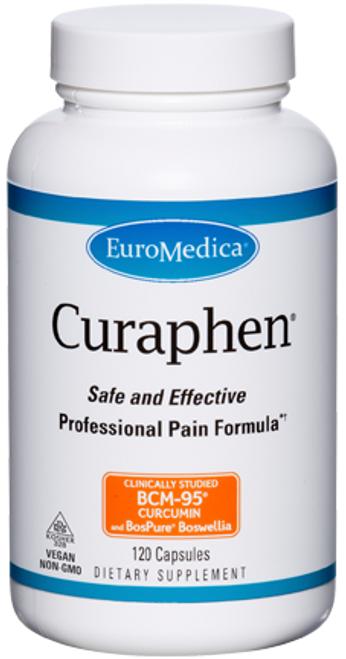 Curaphen by EuroMedica 120 capsules