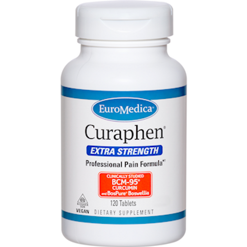 Curaphen Extra Strength by EuroMedica 120 tablets